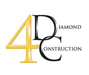 4 Diamond Construction, Inc. Logo